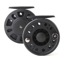 Cheap Fishing Fly Reel Weights 3/4 5/6 7/8 WT Large Arbor Plastic Fly Fish Line Reel Wheel Right/Left Hand Interchangeable Pesca
