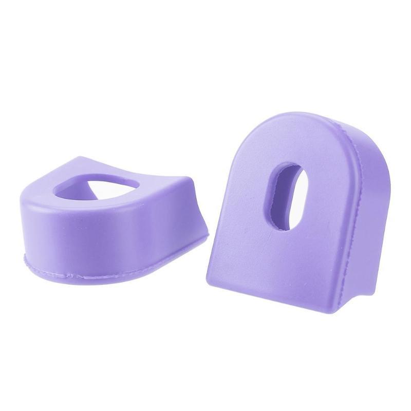 2x Protector de Pinón Cubierta de Bielas Pedal Hecho de Gel de Sílice
