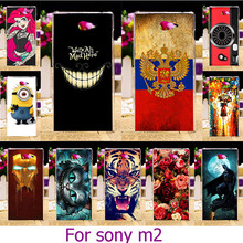 Soft TPU Plastic Case For Sony Xperia M2 S50H D2303 D2305 D2306 dual D2302 4.8 inch Case Cover housing