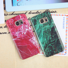 S7 S7 Edge cases Luxury Marble Pattern Design cell phone cases for Samsung Galaxy S7/S7Edge Smooth texture phone back housing