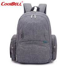 CoolBell Fashion Baby Nappy Bag Waterproof Diaper Bag Brand Large Capacity Stroller Bag Design Baby Handbag Nursing Bag