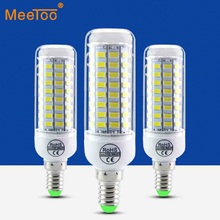 1PCS 5730 SMD 24 36 48 56 69 72Leds E14 LED Bulb Lamp CFL 10W-35W AC220V 230V Led Spotlight  For Indoor lighting With CE ROHS