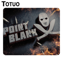 Hot sale Point Blank Fire Logo Emblem Game Mouse Pad High Quality Gaming Silicone Mouse Mat Notebook Rectangular Mouse Pad(China)