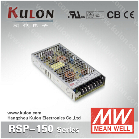 99W 30A 3.3V Power Supply Meanwell RSP-150-3.3 low profile 30mm design with PFC function 3 years warranty<br>