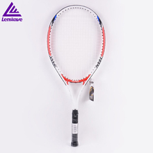 Tennis Racket Raquete De 2017 Aluminum alloy tennis racket head material rackets bag send one beginner ball - China Lenwave Sports Company store