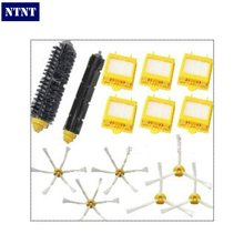 NTNT 6 Hepa Filter + 1 set hair Brush kit + 3 set side brush for iRobot Roomba 700 Series 770 780 790 vacuum cleaner accessories(China)