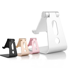 Universal Tablet Desk Holder Stand Aluminum Support Holder For iPhone 6 7 Plus For Samsung Huawei Xiaomi For iPad Tablet Stand(China)
