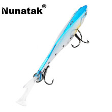 Nunatak SK030 Vibration Fishing Lure 1 UNIT Retail Plastic Bait 17.8g 75mm Sinking Lure VIB Simulation 3D Eyes Nice Packaging Bo