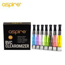 Aspire CE5 Clearomizer 5 pcs/lot Plastic 1.8 ML Tank Bottom Vertical Coils Vape BDC Atomizer for eGo model promotion(China)