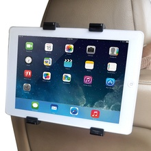 Car Back Seat Headrest Tablet Mount Holder For Ipad 2 3/4 Air 5 Air 6 Ipad Mini 1/2/3 AIR SAMSUNG Tablet PC GPS Holder Stand(China)