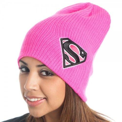 Winter Hat Men Warm Superman Knitted Slouchy Beanie Pink Hats For Women Ski Skullies 2016 New Wool Cap Bonnet Gorro MasculinoÎäåæäà è àêñåññóàðû<br><br><br>Aliexpress