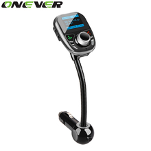 Bluetooth FM Transmitter Car MP3 Audio Player Wireless FM Modulator Car Kit Hands-Free LCD Display USB TF Remote