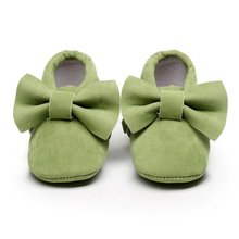 New Spring/Autumn Brand Romirus Lace-up Pu Leather Baby Moccasins Shoes Infant Suede Boots First Walkers Newborn Baby Shoes