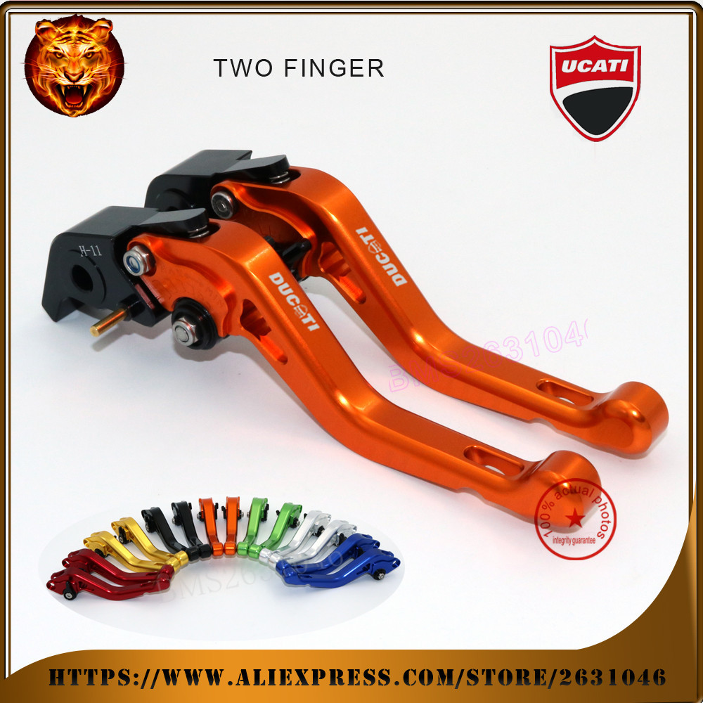For DUCATI 999/S/R 749/S/R S4RS MONSTER M1100/S/EVO high quality  Motorcycle red black  Adjustable Short Brake Clutch Levers <br><br>Aliexpress