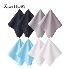 XizeHOM (20*20cm/8pcs) Microfiber lens cleaning cloth , Glasses Cleaner For All Gentle Surfaces, Touchscreens, Smartphones(China)