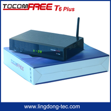 North America home use Android Tocomfree T6 plus TV satellite Receptor with free shipping cost