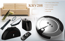 Smart Household Ultra-Thin Robot Efficient Automatic Household Vacuum Cleaner for Underbed, Undertable KRV208(China)