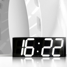 5.9 inch Jumbo Digital Led Wall Clock For School Home Decor Train Station(China)
