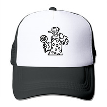 DUTRODU Bad clown stealing candy from a baby trucker hats & caps hip hop hat vary colors for girls.boys breathable(China)