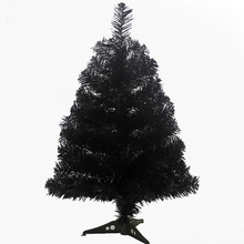 60 cm Black Artificial Christmas Tree For Event Party Fashion Christmas Decoration Mini Table Ornament Desk Decor Xmas Tree(China)
