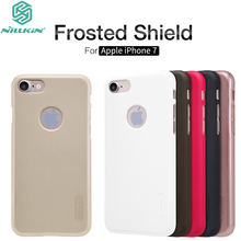 "Buy Apple iPhone 7 4.7"" Case Original Nillkin Frosted Shield Matte Anti-Slip Hard PC iPhone7 Protective Cover + Screen Film for $7.99 in AliExpress store"