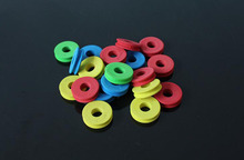 30Pcs Outdoor Fishing line Circular Winding plate foam Board Fishing Lure Trace Wire Leader Swivel Fishing Tackle