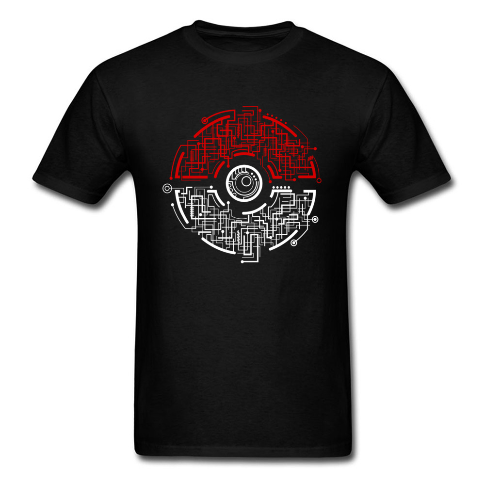 electric ball 8874 Men T-shirts Discount Unique Tees 100% Cotton Crewneck Short Sleeve Design Tee Shirt Summer Fall electric ball 8874 black