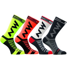 2017 New Cycling Socks Comfortable Breathable Men Sports Bikes Running Socks
