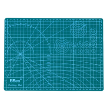 PVC Cutting Mat A4 Durable Self-healing Cut Pad Patchwork Tools Handmade Diy Accessory Cutting Plate Dark Green 30*22cm(China)