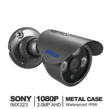 Witrue Mini AHD Camera 1080P Sony IMX323 Video Surveillance Camera IR Night Vision 30M Metal Case Outdoor Waterproof CCTV Camera(China)
