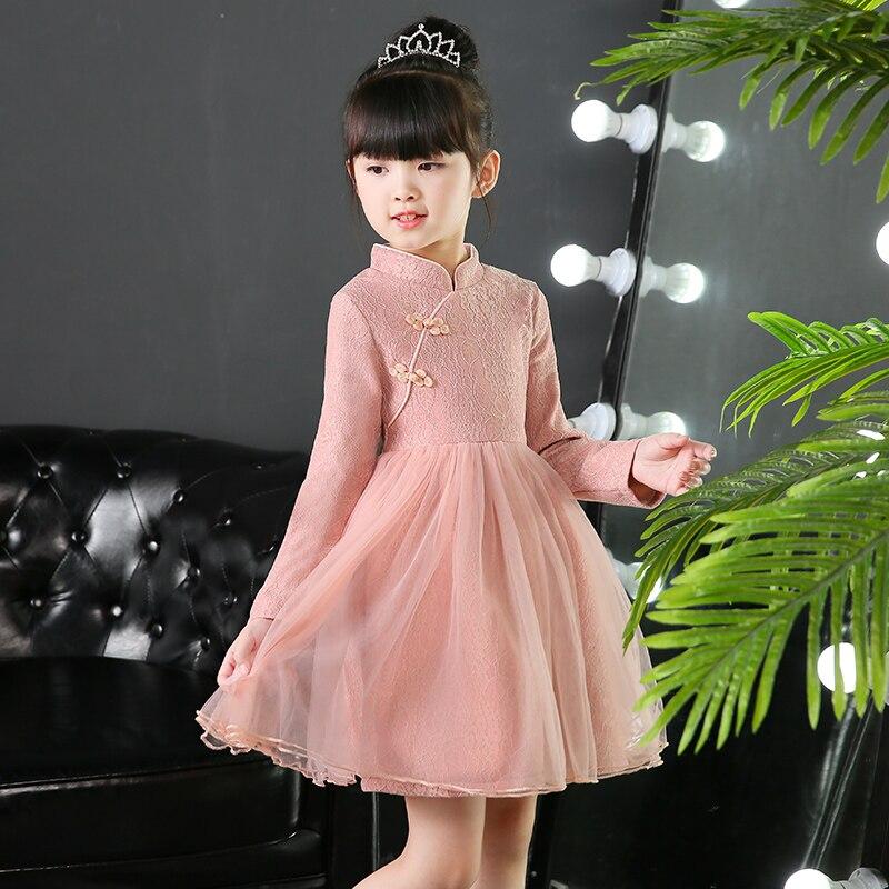Baby Girls Flower Sequins Dress Party Princess Dress Children Kids Clothes Vestido Infantil Kids Costume 4-9Y<br>