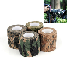 5cmx4.5m Army Camo Outdoor Hunting Shooting Tool Camouflage Stealth Tape Waterproof Wrap Durable Hot Sale