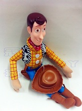 40cm Toy Story 3 Sherif Woody Handsome Guy Soft Stuffed Plush Toy Figure Doll Birthday Gift Child Gifts Christmas Gift
