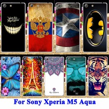 Durable Mobile Phone CaseFor Sony Xperia M5 Aqua E5603 Cases Covers E5606 E5653 E5633 E5643 E5663 Housing Bags Skin Back Fundas - AKABEILA Official Store store