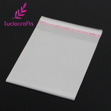 Lucia crafts Multi Sizes Option Packaging Plastic Package Bags Self Adhesive Seal Storage bag 19010001(China)
