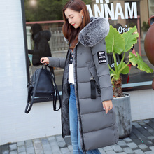 Buy 2017 winter jacket women casual solid long warm parka jacket women hooded fur collar womens clothing ladies coats female coat for $64.30 in AliExpress store
