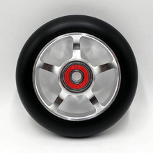 Buy 20 wheels! Super discount products! High stunt scooter wheels / scooter wheels / roller ski wheel 100MM88A for $120.00 in AliExpress store