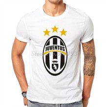 New Print Men's T shirt Juventus Fashion Male Cotton Tees White Funny Tshirt Cotton Tops Hipster Clothing JJ03