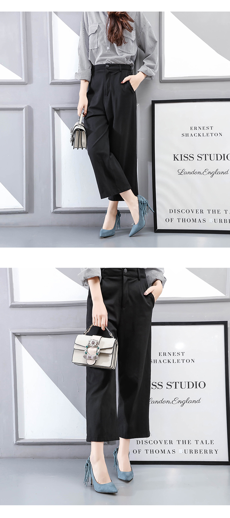 Woman Shoes High Heels Brand Women Pumps Tassel Fashion Office Lady Dress Shoes Black Spring Autumn Pointed Toe Female Pumps DE 6