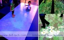 DEFI interactive floor/wall system, Professional Interactive floor projection system for Advertising