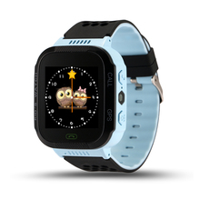 Cute Sport Q528 Kids GPS Tracker Watch Kids Smart Watch with Flash Light Touch Screen SOS Call Location Finder for Child(China)