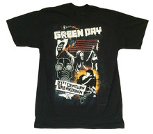 Green Day Collage 21st Century Breakdown 2009 USA CDN Black T Shirt New Official cream t shirt mens