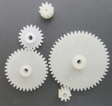 Plastic gear bag /  small motor gear / four-wheel gear