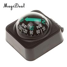 MagiDeal Adjustable 1Pc Navigation Dashboard Car Compass Cycling Hiking Direction Pointing Guide Ball for Outdoor Car Boat Truck(China)