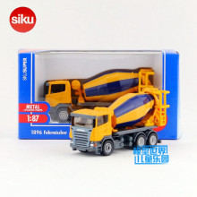Free Shipping/Siku 1:87 Scale/Diecast Toy car Model/Scania Cement mixer/For Collection/Educational/Small/Festival gift