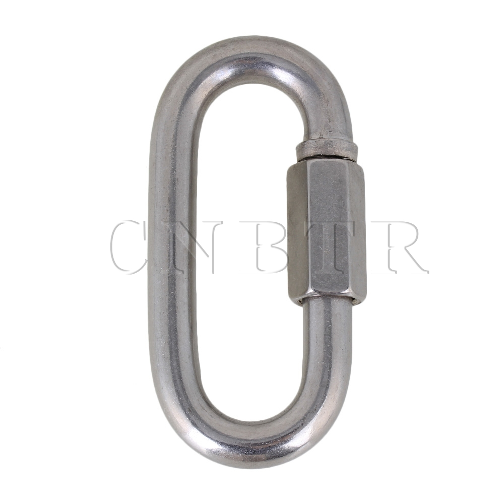 CNBTR Multifunctional 304 Stainless Steel M12 Fastening Carabiner with Quick Screw<br><br>Aliexpress