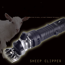 ELECTRIC 320W SHEEP/GOATS SHEARING CLIPPER + 13 tooth straight blade High power cut wool