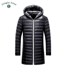 2017 Winter new Men's Down Jacket White Duck Down Jackets Casual mens Down Jackets Medium-Long Coats