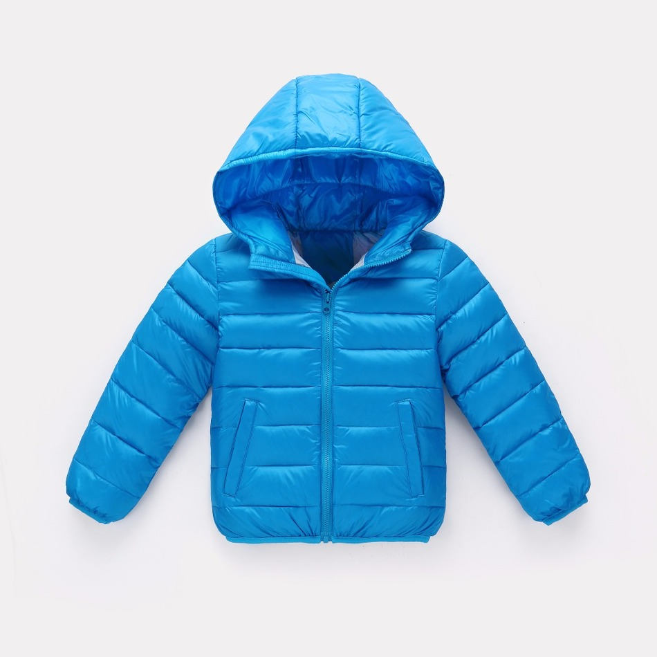 Kids White duck down Coats Childrens Clothing  Teens Candy color Zipper Hooded Outerwear Warm Parkas For Boy and Girl 4-14YОдежда и ак�е��уары<br><br><br>Aliexpress