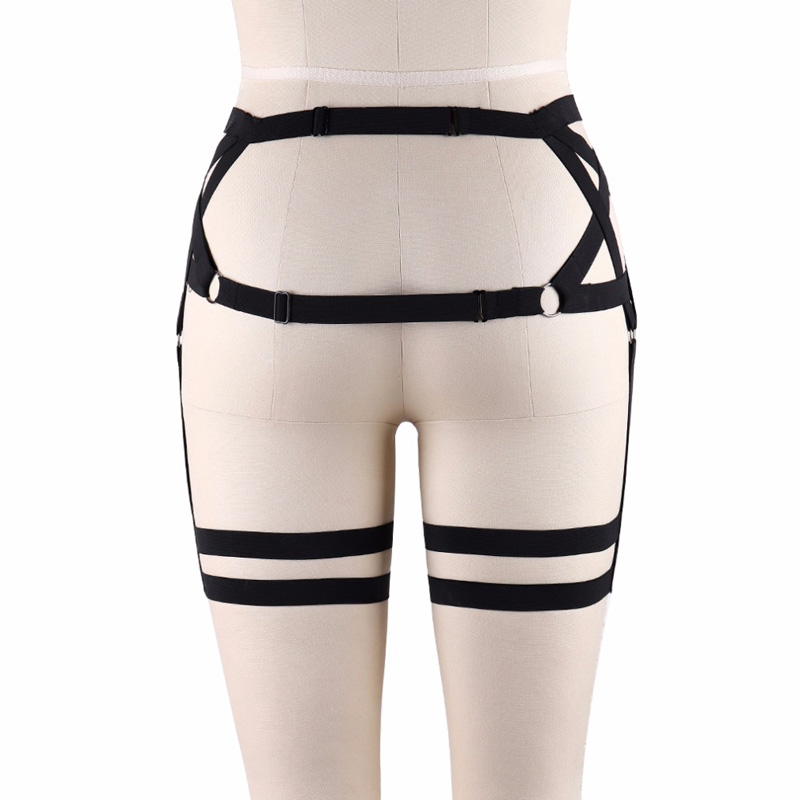 Harajuku-Pentagram-Garters-Punk-Stockings-Suspender-Belt-Fetish-Wear-Thigh-Lingerie-Pentagram-Harness-Leg-Harness-P0129 (2)